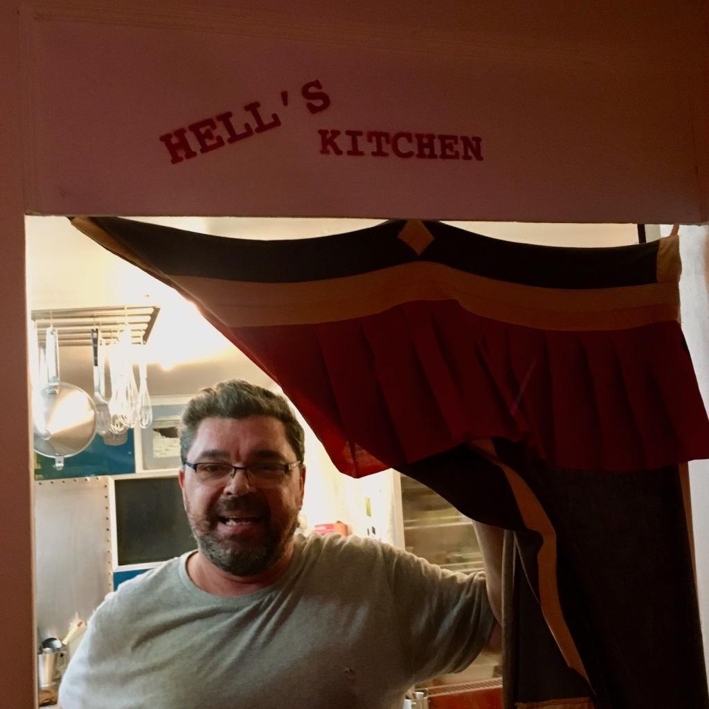 Patrick, chef at Dulan Crap