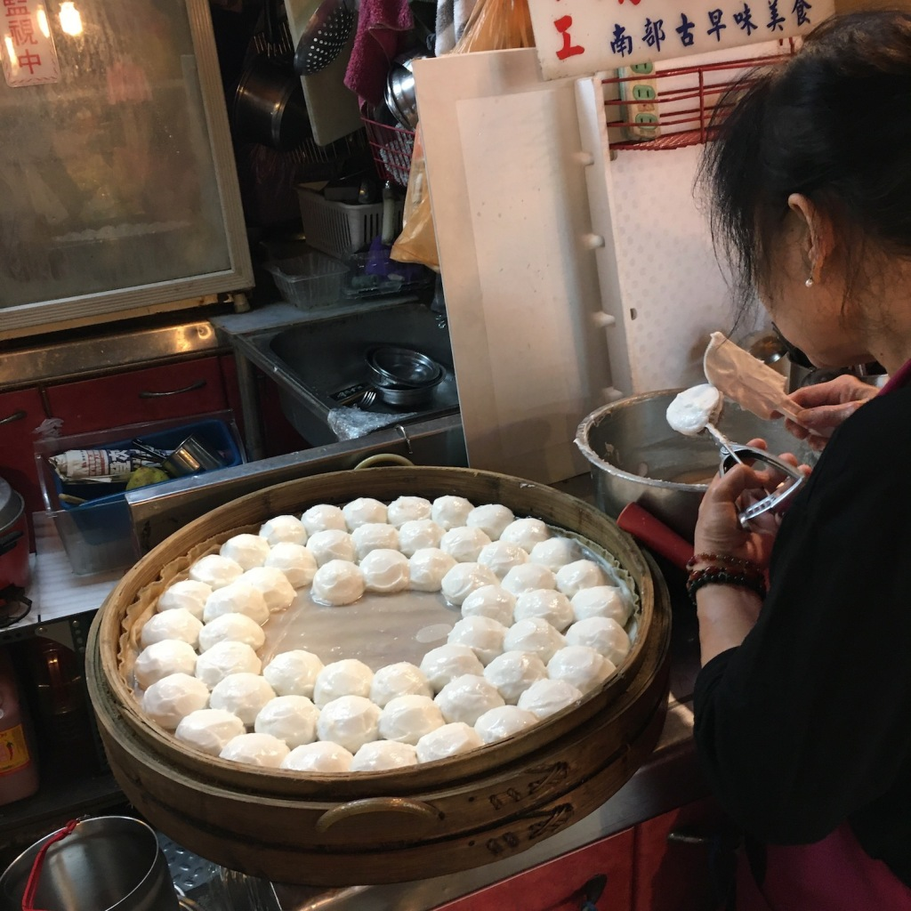 Jingei - another kind of steamed Taro dumpling
